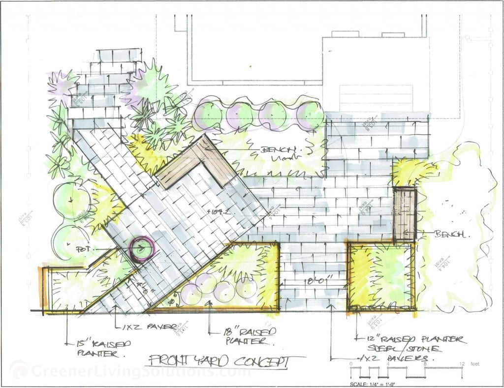 Landscape architecture greener living solutions for Landscape architect drawing
