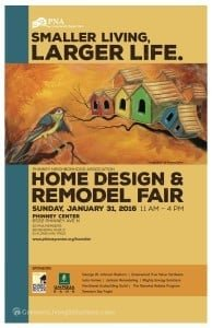2016 Phinney Home Design & Remodel Fair poster