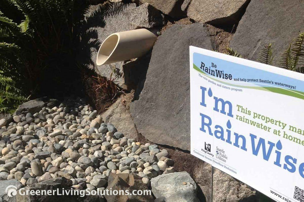 Photo of City of Seattle Rainwise Program display