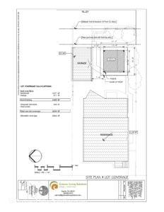 Landuse structure-site plan mod