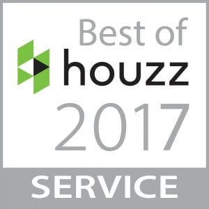 Winner of Best of Houzz 2017 - Service